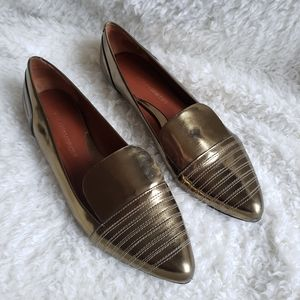 Rebecca Minkoff Leather Pointed Toe Flats Size 7.5
